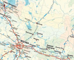 Международный транспортный маршрут «Европа – Западный Китай» (включая Скоростную автодорогу «Москва – Нижний Новгород – Казань»)